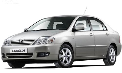 Toyota Corolla 2000-2007 *Sedan